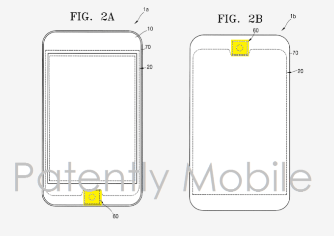 Przycisk Home ze skanerem linii papilarnych - patent Samsunga
