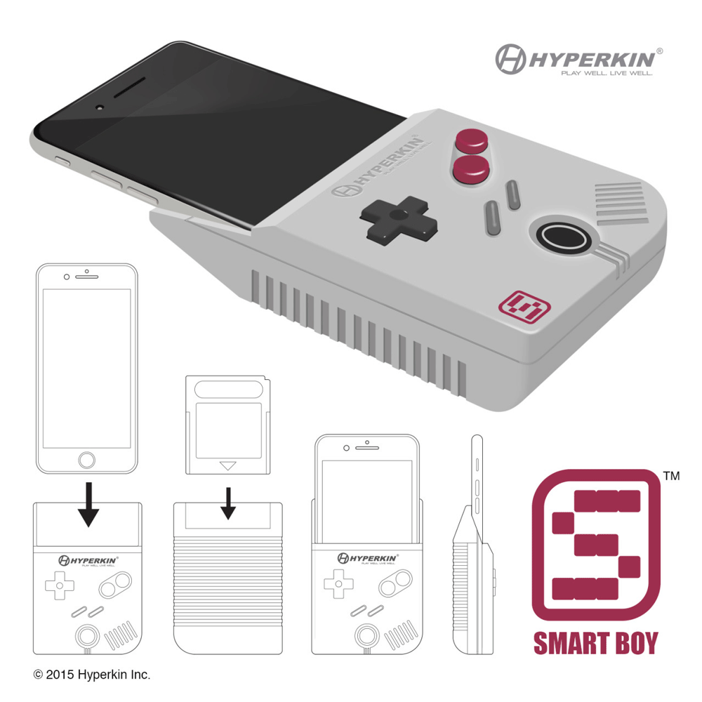Smart Boy - zamiana iPhone'a w Game Boya