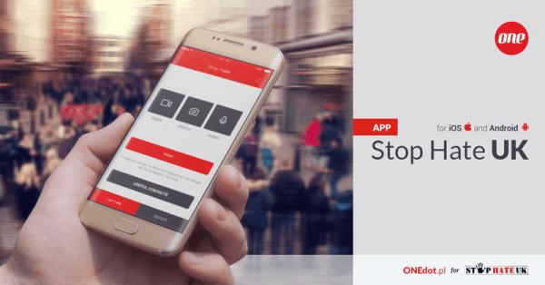 Stop Hate UK – aplikacja antyhejtowska
