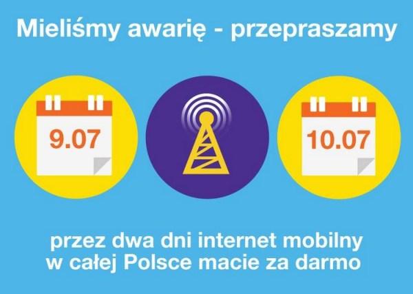 Darmowy internet mobilny przez weekend od Orange