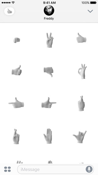 Hands Emoji iOS 10