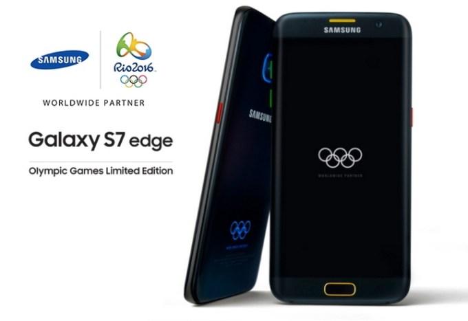 Samsung Galaxy S7 edge Olympic Games Limited Edition - limitowana edycja Rio 2016