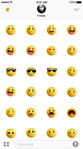 Smileys iOS 10