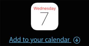 Dodaj wydarzenie do kalendarza (Apple Special Event 7 września 2016 r. godz. 19.00)