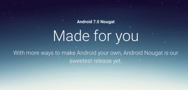 Już jest Android 7.0 Nougat na Nexusy!