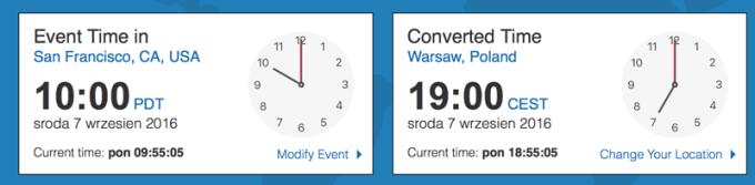 O której i kiedy odbędzie sie konferencja Apple'a na żywo?
