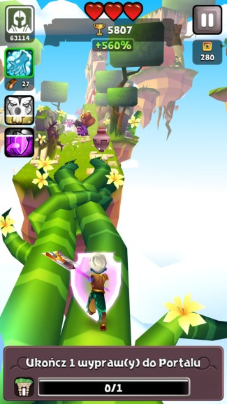 Screen z gry Blades of Brim (iPhone)