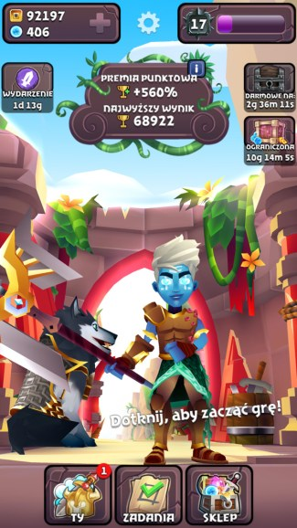 Screen z gry Blades of Brim (iOS)
