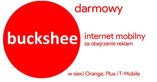 Buckshee – darmowy internet mobilny za reklamy
