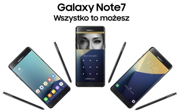 Samsung Galaxy Note7 – oficjalne wideo