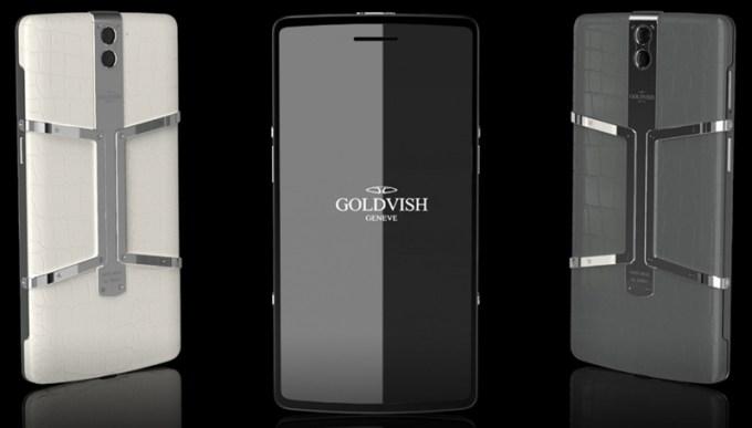 Goldvish Eclipse z diamentami i czarna skóra aligatora - najdroższy smartfon na świecie