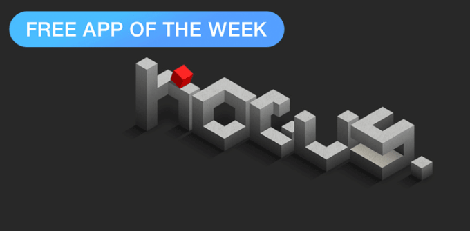 hocus. logiczna gra mobilna - Free App Of The Week  App Store
