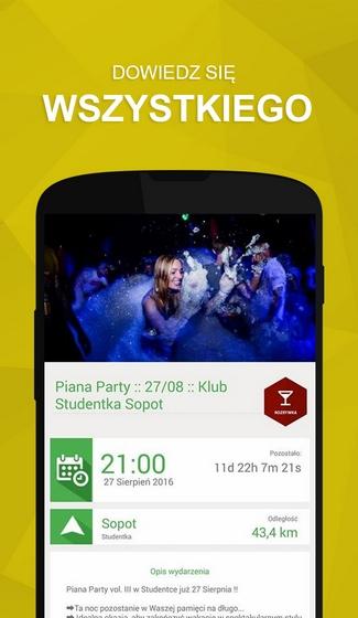 Aplikacja mobilna Nays - screen