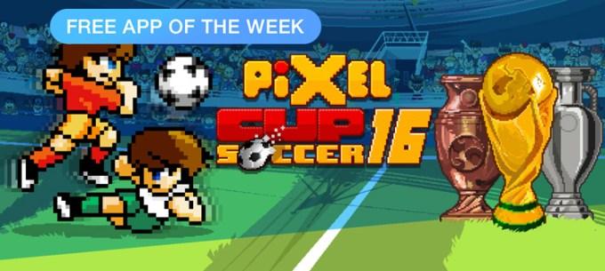 Pixel Cup Soccer 16 - free app of the week App Store