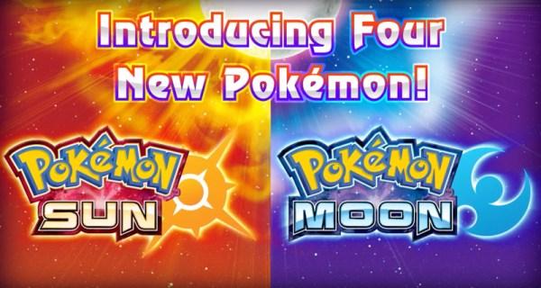 Nowe pokemony w Pokémon Sun i Moon
