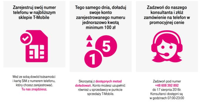 Promocja T-Mobile z telefonem MaxCom Dual SIM
