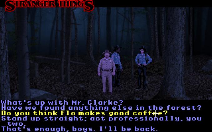 Screen z gry Stranger Things