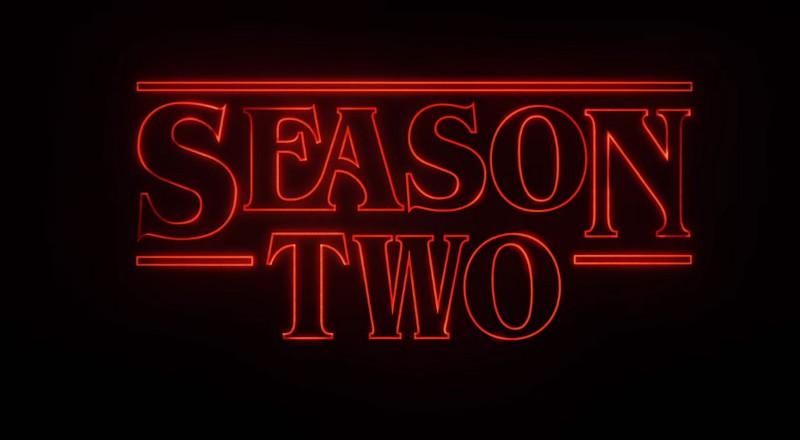 Drugi sezon serialu Stranger Things w 2017 r.