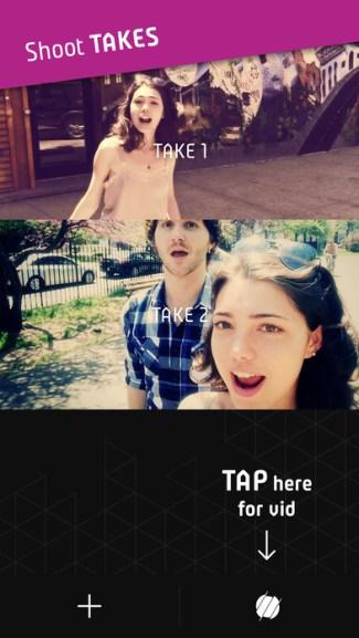 Screen z aplikacji Triller