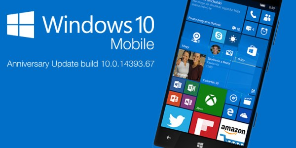 Już jest Windows 10 Mobile Anniversary Update
