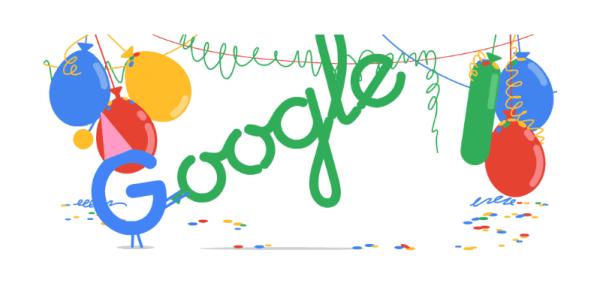 Google świętuje dzisiaj 18. urodziny