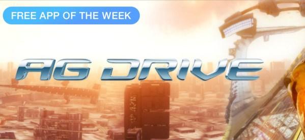 AG Drive – darmową aplikacją tygodnia w App Storze