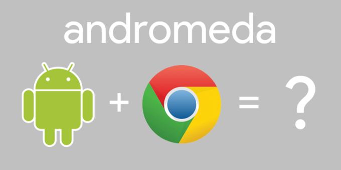 Andromeda - uniwersalny system Google'a powstały z połączenia Androida i Chrome OS?