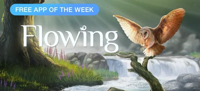 Flowing - aplikacja tygodnia w App Store (Free App of The Week - 29.09.2016)
