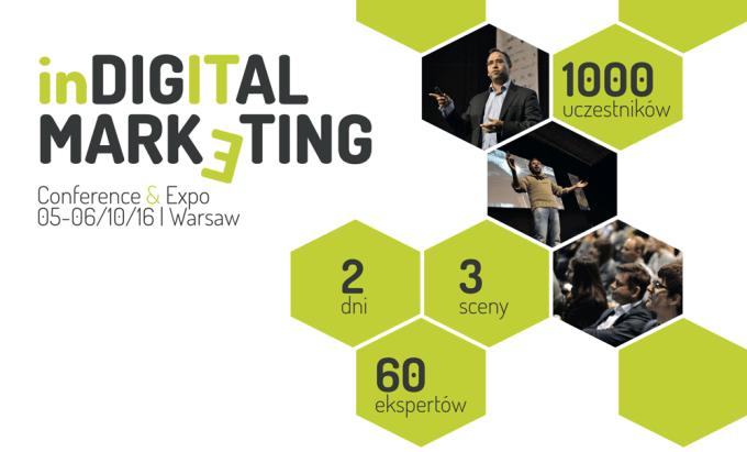 In Digital Marketing - konferencja dla branży marketingu online (Warszawa 5-6 października 2016)
