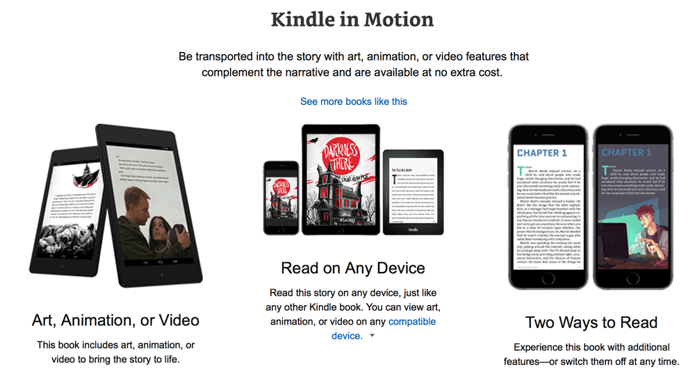 Kindle in Motion - Amazon