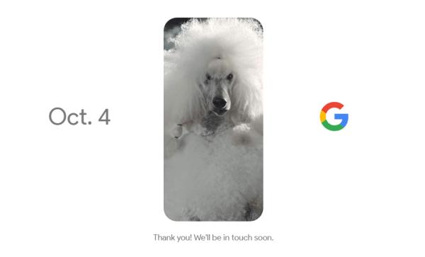 Google zaprezentuje smartfona 4 października 2016 r.