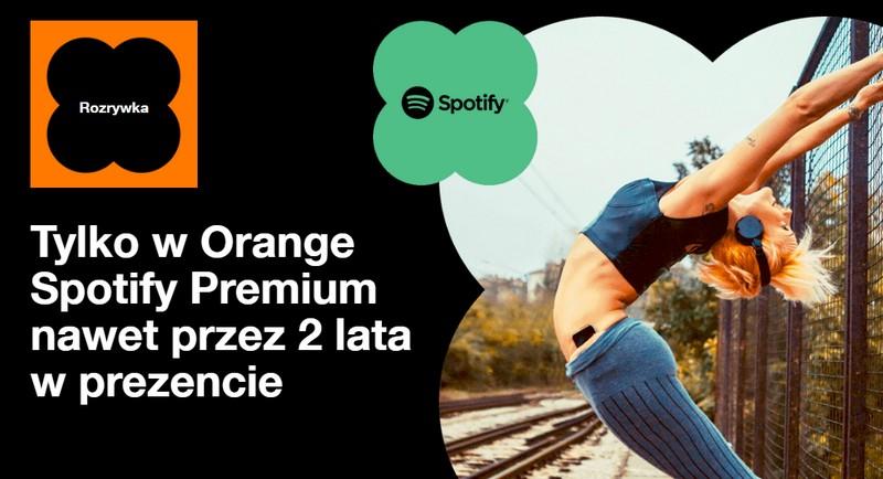 Spotify Premium w ofercie abonamentowej dla klientów Orange