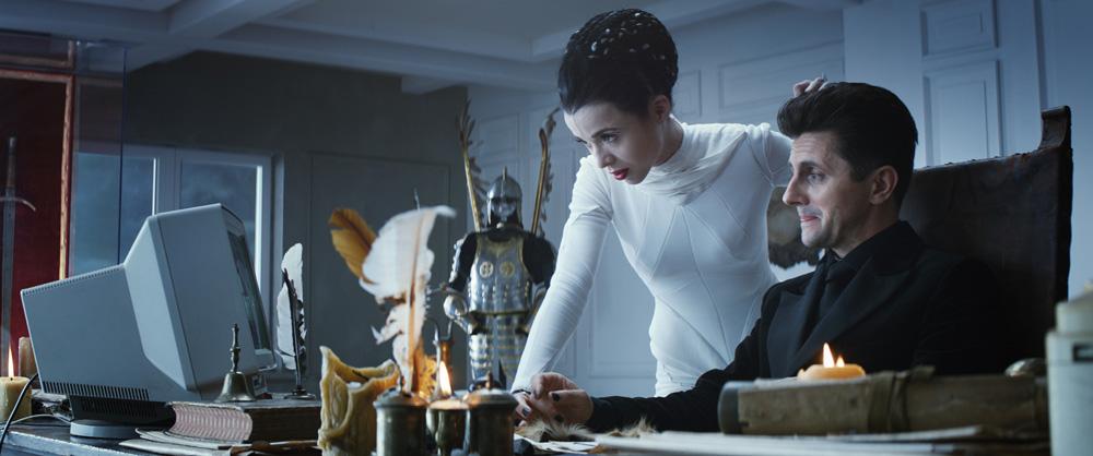 Kadr z filmu pt. Twardowsky 2.0