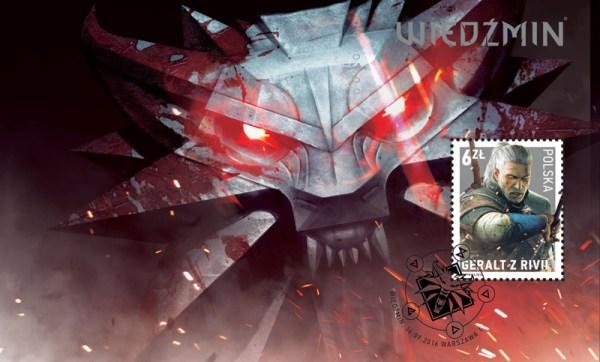 Wiedźmin na znaczku pocztowym – znak czasu