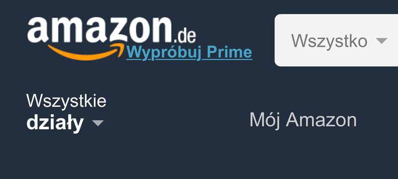 Amazon.de po polsku!