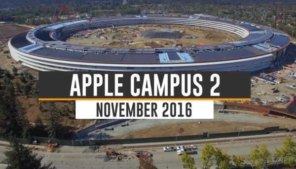 Budowa Apple Campus 2 zbliża się ku końcowi