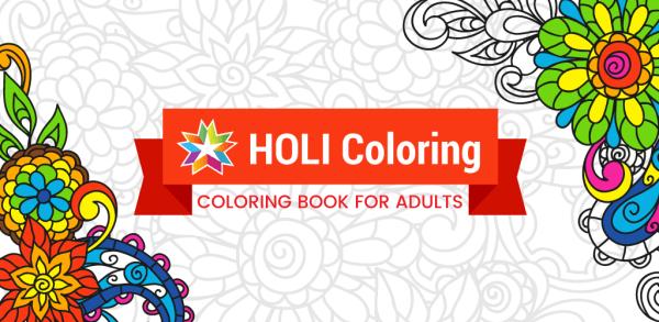 HOLI – relaksująca kolorowanka na smartfona