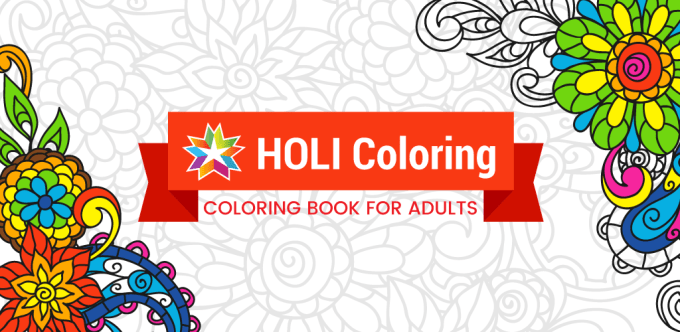 HOLI - kolorowanka mobilna nie tylko dla dorosłych