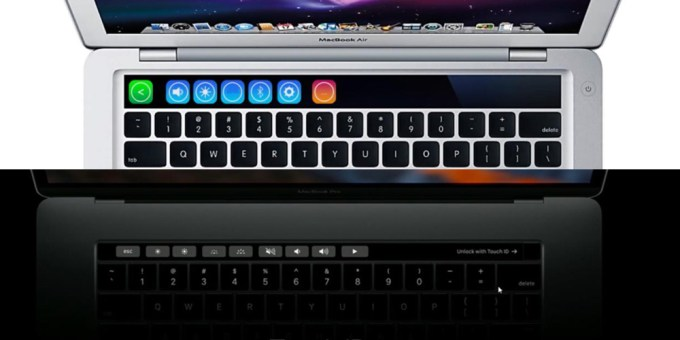 iKeys (2014) vs. Touch Bar (2016 ) MacBook