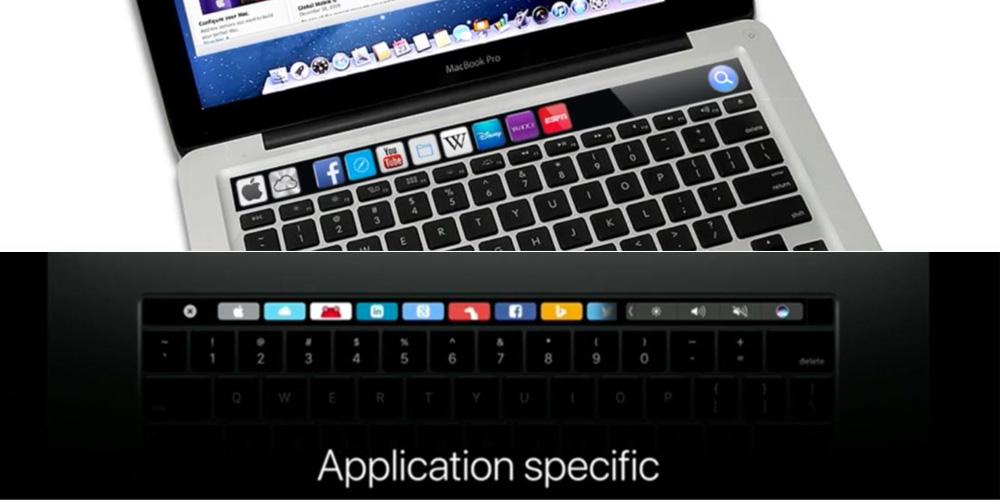 iKeys vs. Touch Bar (skróty Safari)