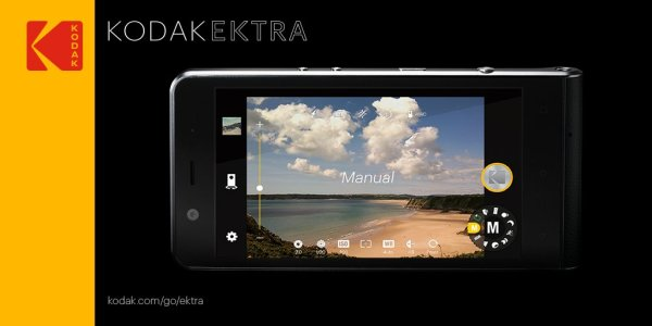 Kodak Ektra – smartfon wyglądający jak aparat vintage