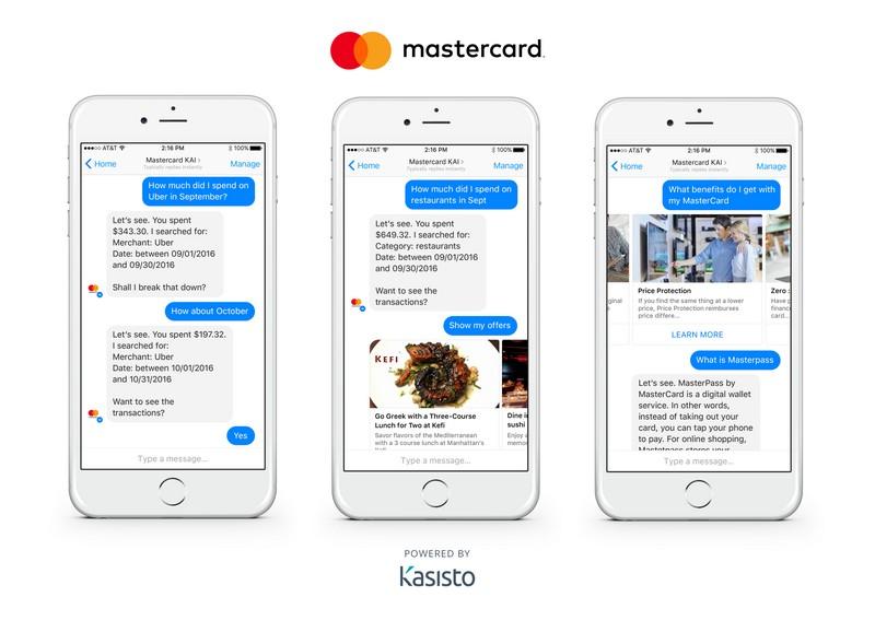 Chatboty od Mastercarda