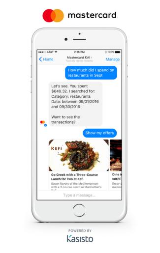 Chatboty od Mastercarda - oferty
