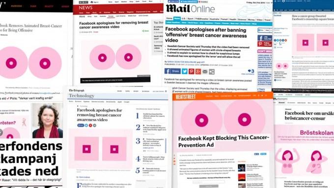E-media napisały o akcji Cancerfonden dzięki Facebookowi!