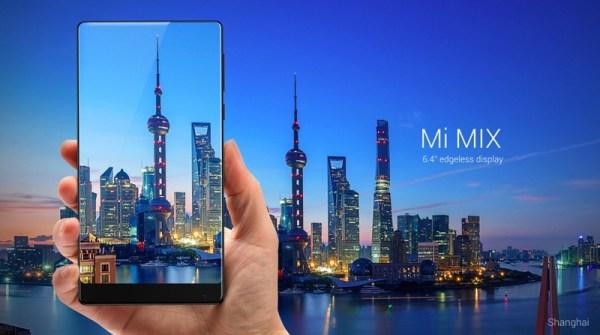 Mi MIX od Xiaomi z 6,4-calowym wyświetlaczem