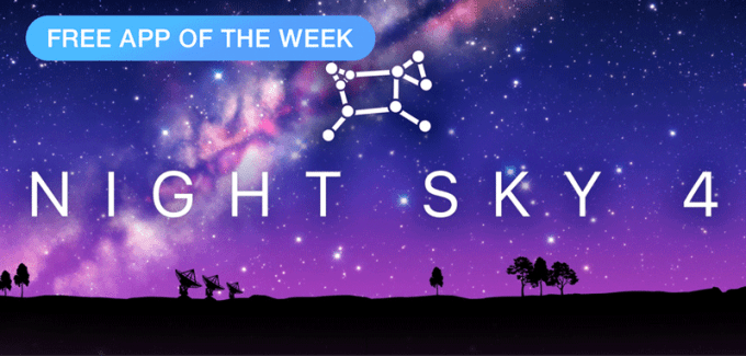 Night Sky 4 - free App of The Week