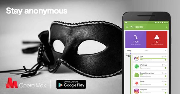 Opera Max na Androida – anonimowość na mobile'u?