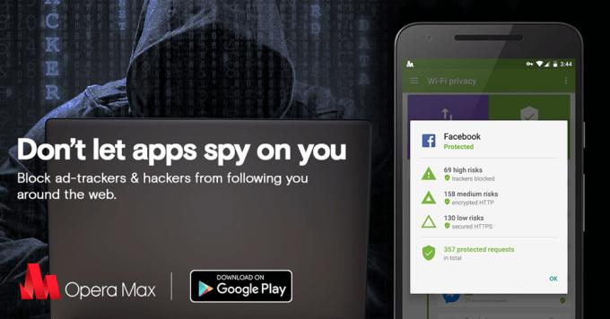 Opera Max - ochrona przed śledzeniem aplikacji mobilnych na Androidzie