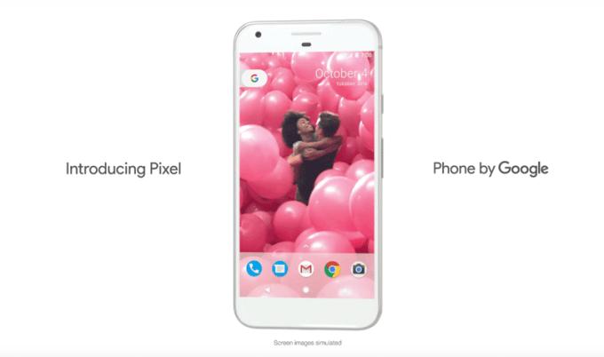 Pixel - Phine by Google - screen z reklamy