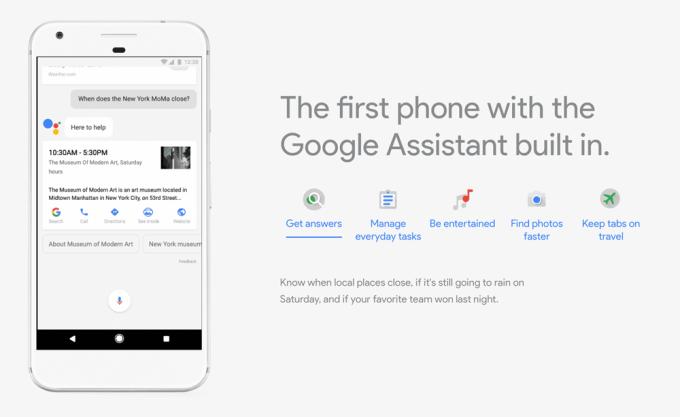 Pixel - pierwszy smartfon z wbudowanym Asystentem Google